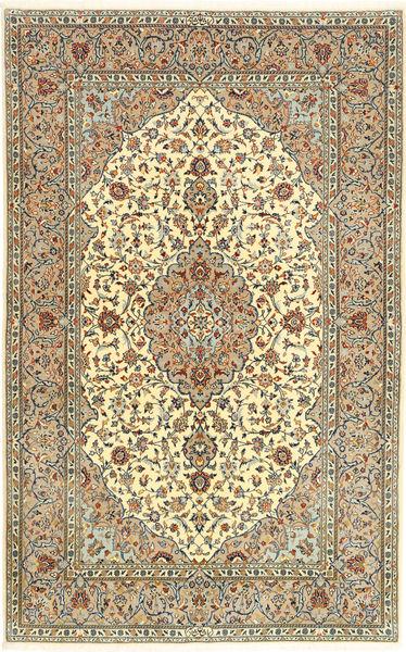 Keshas Allekirjoitettu: Shadsar Matto 141X226 Itämainen Käsinsolmittu Tummanbeige/Tummanharmaa (Villa, Persia/Iran)