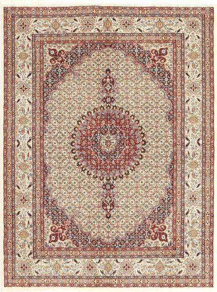 Moud Sherkat Farsh Rug 150X200 Authentic  Oriental Handknotted Light Brown/Light Pink (Wool, Persia/Iran)