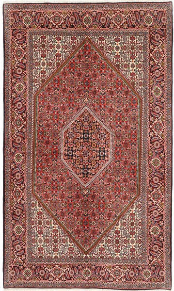 Bidjar Rug 140X232 Authentic  Oriental Handknotted Brown/Light Brown (Wool, Persia/Iran)
