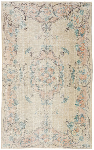 Colored Vintage Rug 170X273 Authentic  Modern Handknotted Light Grey/Light Brown (Wool, Turkey)