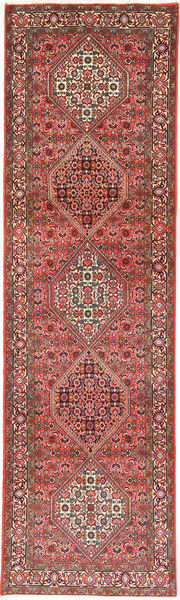 Bidjar Rug 80X292 Authentic  Oriental Handknotted Hallway Runner  Light Brown/Dark Red (Wool, Persia/Iran)