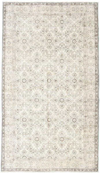 Colored Vintage Rug 171X303 Authentic  Modern Handknotted Beige/Light Grey (Wool, Turkey)