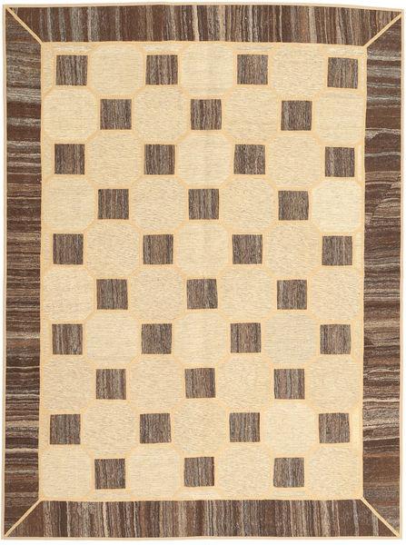 Kilim Patchwork Alfombra 175X235 Moderna Tejida A Mano Marrón/Beige Oscuro/Amarillo (Lana, Persia/Irán)