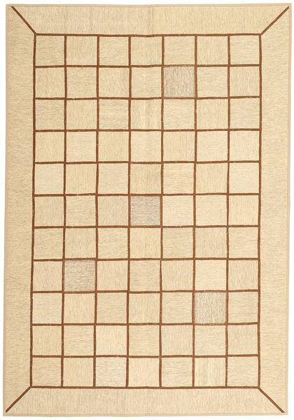 Kelim Patchwork Matto 173X251 Moderni Käsinkudottu Beige/Tummanbeige (Villa, Persia/Iran)