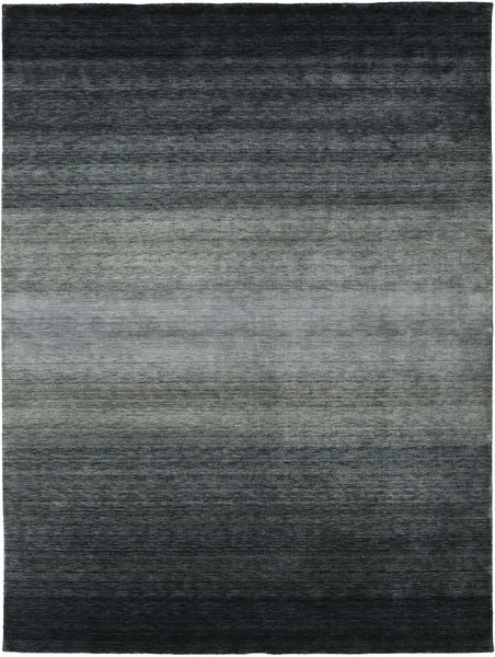 Gabbeh Rainbow - Grey Rug 300X400 Modern Black/Blue Large (Wool, India)