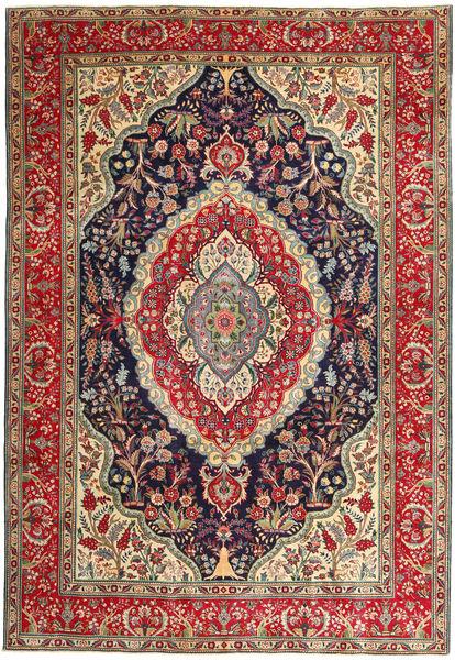 Tabriz Patina Rug 247X360 Authentic  Oriental Handknotted Brown/Purple (Wool, Persia/Iran)