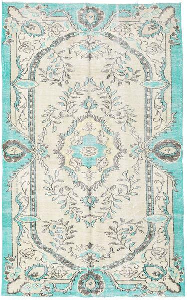 Colored Vintage Dywan 170X274 Nowoczesny Tkany Ręcznie Jasnoszary/Beżowy (Wełna, Turcja)