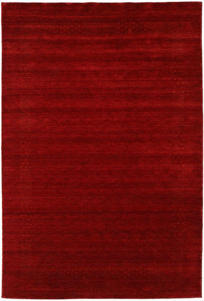 Loribaf Loom Giota - Punainen Matto 190X290 Moderni Tummanpunainen (Villa, Intia)