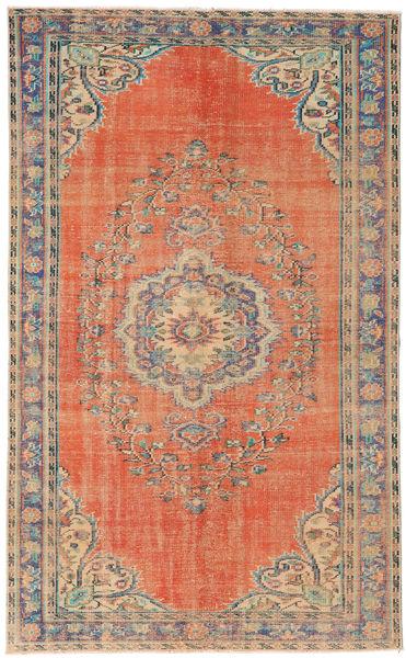Colored Vintage Dywan 162X264 Nowoczesny Tkany Ręcznie Jasnobrązowy/Pomarańczowy (Wełna, Turcja)