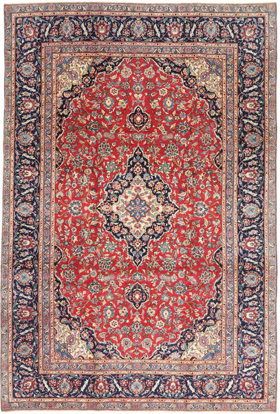 Keshan Patina Rug 240X355 Authentic  Oriental Handknotted Light Grey/Light Brown (Wool, Persia/Iran)
