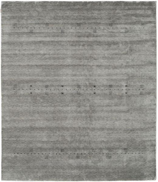Loribaf Loom Eta - Grey Rug 240X290 Modern Dark Grey/Light Grey (Wool, India)