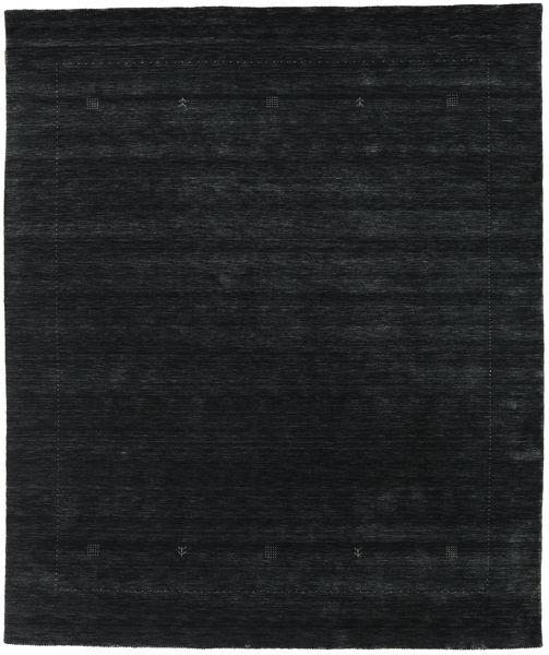 Loribaf Loom Giota - Svart/Grå Teppe 240X290 Moderne Mørk Blå (Ull, India)