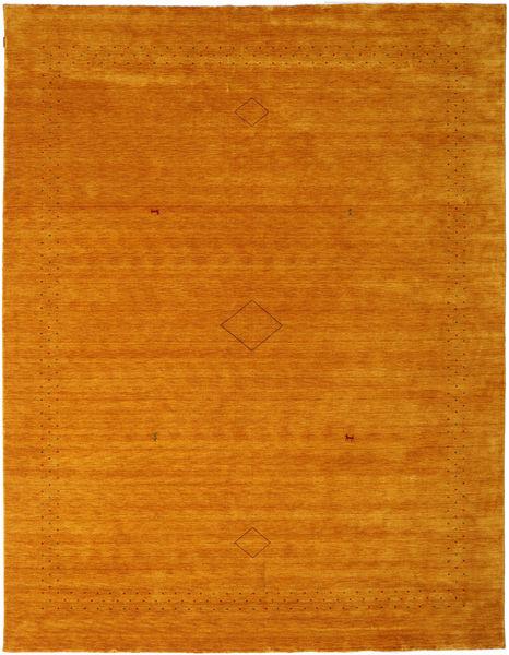 Loribaf ルーム Alfa - ゴールド 絨毯 290X390 モダン オレンジ/錆色 大きな (ウール, インド)