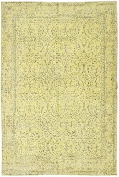 Colored Vintage Dywan 172X263 Nowoczesny Tkany Ręcznie Żółty/Jasnozielony (Wełna, Turcja)