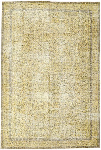 カラード ヴィンテージ 絨毯 202X305 モダン 手織り ベージュ/暗めのベージュ色の (ウール, トルコ)