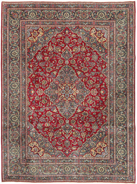 Keshan Patina Rug 240X320 Authentic  Oriental Handknotted Dark Grey/Light Brown (Wool, Persia/Iran)