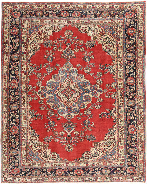 Hamadan Patina Rug 255X315 Authentic  Oriental Handknotted Light Brown/Rust Red Large (Wool, Persia/Iran)