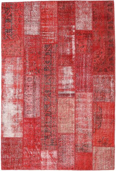 Patchwork Rug 200X299 Authentic  Modern Handknotted Dark Red/Dark Beige (Wool, Turkey)