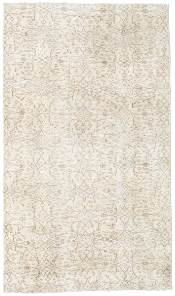 Colored Vintage Rug 112X192 Authentic  Modern Handknotted Beige/Light Grey (Wool, Turkey)