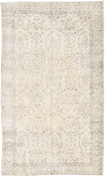Colored Vintage Rug 116X200 Authentic  Modern Handknotted Beige/Light Grey (Wool, Turkey)