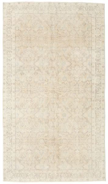 Colored Vintage Rug 120X210 Authentic  Modern Handknotted Beige/Light Brown (Wool, Turkey)