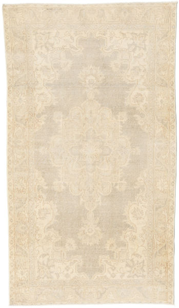 Colored Vintage Rug 112X198 Authentic  Modern Handknotted Beige/Light Brown (Wool, Turkey)