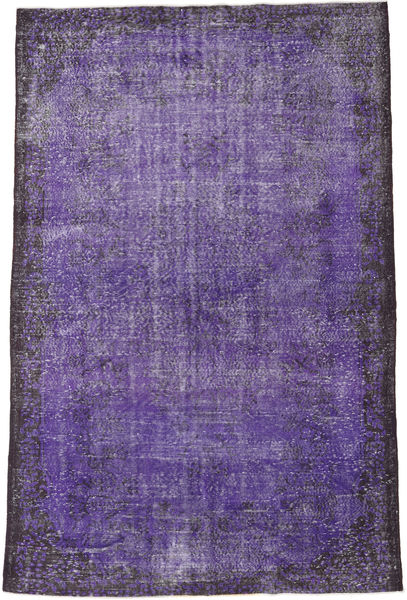 Colored Vintage Rug 186X289 Authentic  Modern Handknotted Purple/Dark Purple (Wool, Turkey)