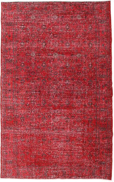 Colored Vintage Dywan 168X267 Nowoczesny Tkany Ręcznie Czerwony/Ciemnoczerwony (Wełna, Turcja)