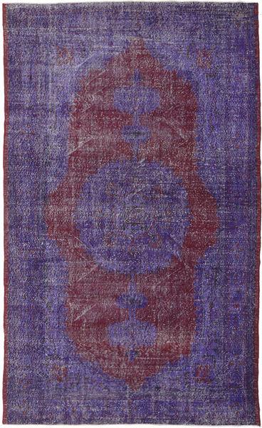Colored Vintage Rug 189X311 Authentic  Modern Handknotted Purple/Dark Purple (Wool, Turkey)
