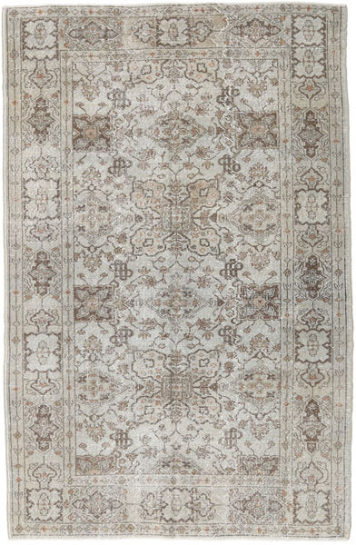 Colored Vintage Rug 167X257 Authentic  Modern Handknotted Light Grey/Light Brown (Wool, Turkey)