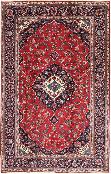Keshan Patina Teppe 188X295 Ekte Orientalsk Håndknyttet Mørk Lilla/Rød (Ull, Persia/Iran)