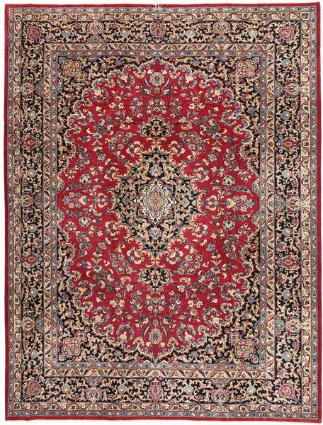 Mashad Patina Matto 247X322 Itämainen Käsinsolmittu Punainen/Tummansininen (Villa, Persia/Iran)