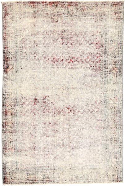 Vintage Szőnyeg 129X208 Modern Csomózású Bézs/Bézs/Krém (Gyapjú, Perzsia/Irán)