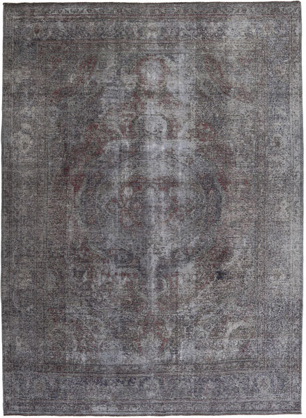 Colored Vintage Rug 250X338 Authentic  Modern Handknotted Dark Grey/Light Grey Large (Wool, Persia/Iran)