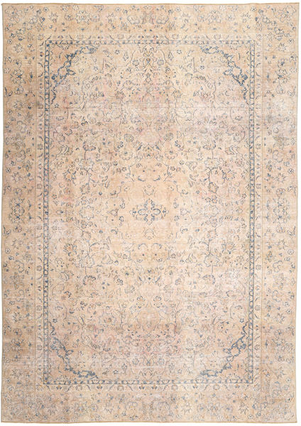 Vintage Rug 265X378 Authentic  Modern Handknotted Light Pink/Light Brown Large (Wool, Persia/Iran)