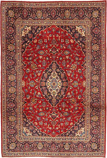 Keshan Matto 205X302 Itämainen Käsinsolmittu Ruskea/Tummanruskea (Villa, Persia/Iran)