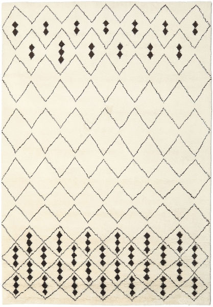 Berber Indo - Off-White / Black carpet CVD17649