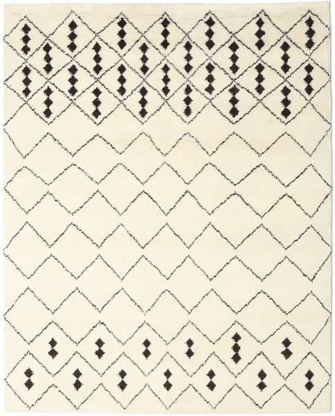 Berber Indo - Off-White/Black Rug 240X300 Authentic  Modern Handknotted Beige (Wool, India)