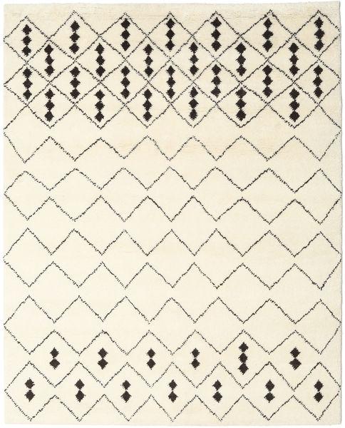 Tappeto Berber Indo - Off-Bianco / Nero CVD17648