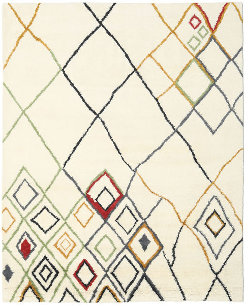 Berber Indo - Off-White / multi rug CVD17652