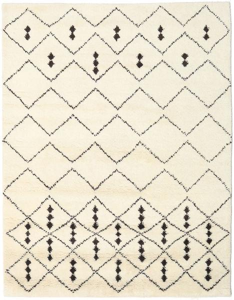 Berber Indo - Off-Blanc/Noir Tapis 190X240 Moderne Fait Main Beige (Laine, Inde)
