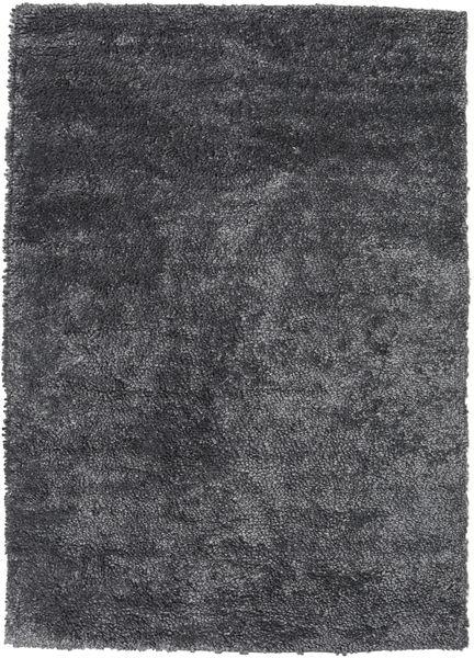 Stick Saggi - Dunkel Grau Teppich  210X290 Echter Moderner Handgeknüpfter Dunkelgrau/Dunkelblau (Wolle, Indien)