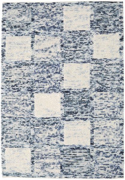 Box Drop - Mixed Grey Rug 160X230 Authentic  Modern Handwoven Light Grey/Light Blue (Wool, India)