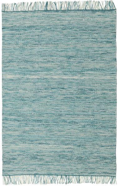 Vilma - Turkoois Mix Tapijt 140X200 Echt Modern Handgeweven Lichtgrijs/Turquoise Blauw/Lichtblauw/Turquoise Blauw (Wol, India)