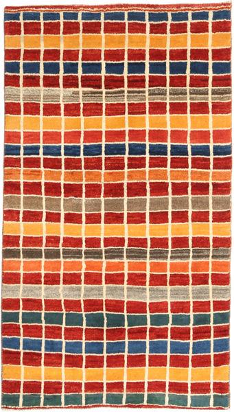 Gabbeh (Persja) Dywan 111X202 Nowoczesny Tkany Ręcznie Rdzawy/Czerwony/Pomarańczowy (Wełna, Persja/Iran)