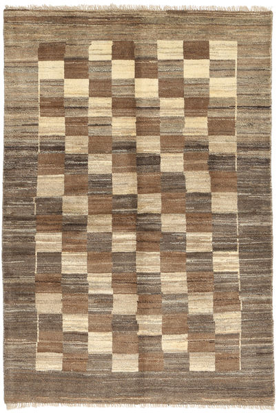 Gabbeh Persia Rug 106X159 Authentic  Modern Handknotted Light Brown/Brown (Wool, Persia/Iran)
