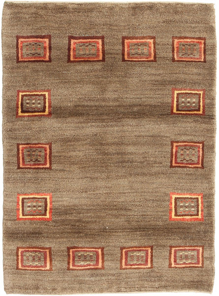 Gabbeh Persia Rug 84X114 Authentic  Modern Handknotted Brown/Light Brown (Wool, Persia/Iran)