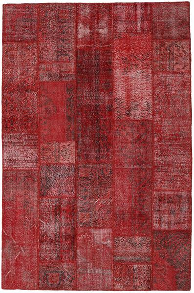パッチワーク 絨毯 199X303 モダン 手織り 深紅色の/赤 (ウール, トルコ)