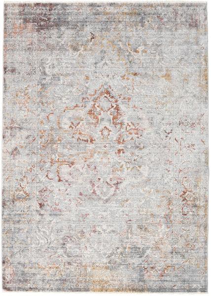 Megrez - Licht Grijs / Roestkleur tapijt RVD19455