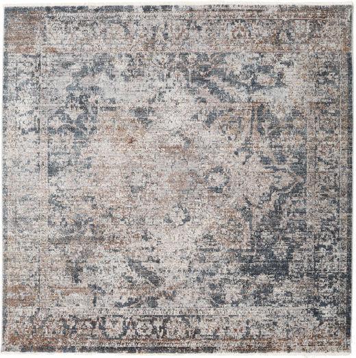 Warida - Blauw / Grijs tapijt RVD19479